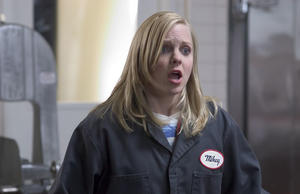 "Anna Faris as Jane in ""Smiley Face."""