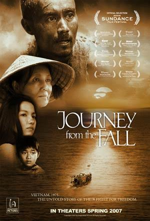 "Poster art for ""Journey from the Fall."""