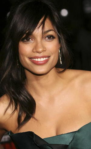 """Actress Rosario Dawson at the L.A. premiere of """"Grindhouse."""""""