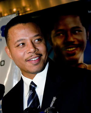 """Actor Terrence Howard at the Philadelphia premiere of """"Pride."""""""
