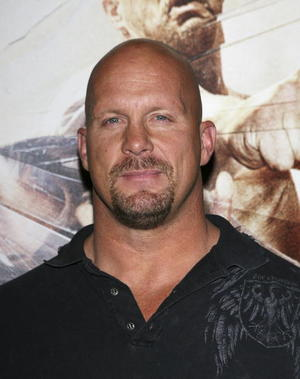 """The Condemned"" star Steve Austin at an L.A. screening."