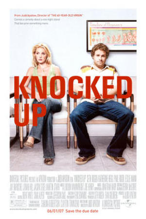"Poster art for ""Knocked Up."""