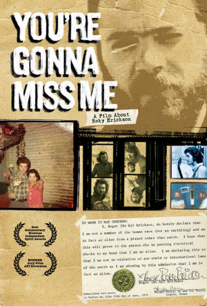 "Poster art for ""You're Gonna Miss Me."""