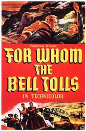 """Poster art for """"For Whom the Bell Tolls."""""""