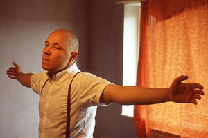 "Stephen Graham as Combo in ""This Is England."""