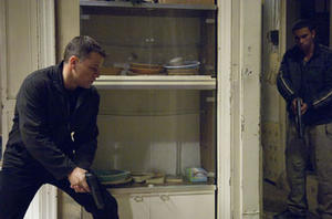 "Matt Damon and Joey Ansah in ""The Bourne Ultimatum."""