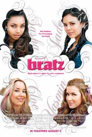 """Poster art for """"Bratz."""""""