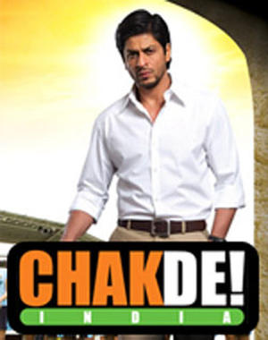 "Poster art for ""Chak De India."""