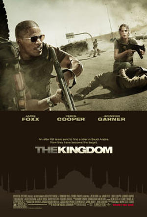 """Poster art for """"The Kingdom."""""""