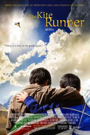 "Poster art for ""The Kite Runner."""