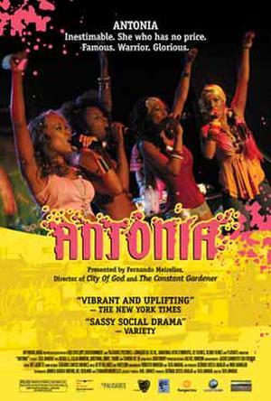 """Poster art for """"Antonia."""""""