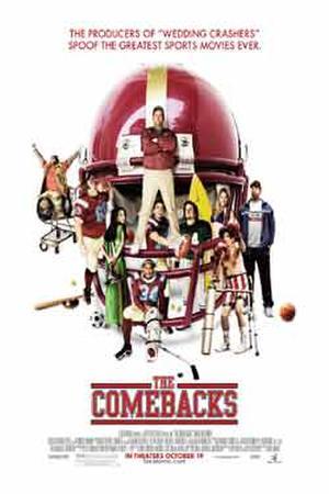 """The Comebacks"" poster art."