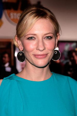 """""""Elizabeth: The Golden Age"""" star Cate Blanchett at the Universal City premiere."""