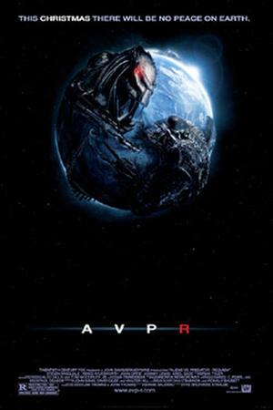 "Poster art for ""Alien vs. Predator: Requiem."""