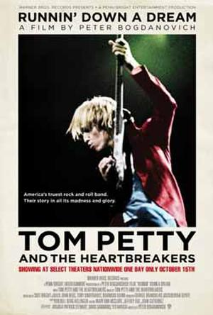 """""""Tom Petty & the Heartbreakers: Running Down a Dream"""" poster art."""