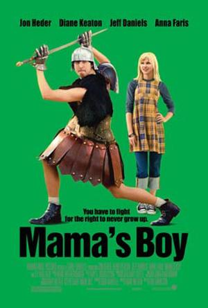 """Poster art for """"Mama's Boy."""""""