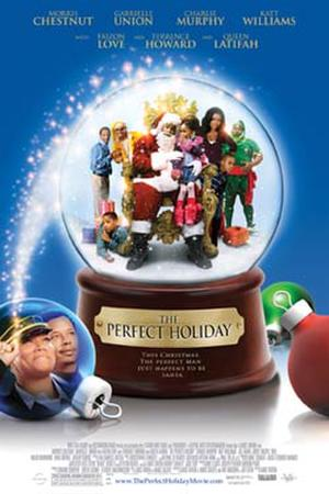 """Poster art for """"The Perfect Holiday."""""""