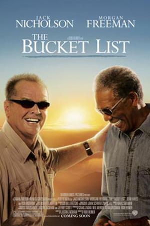 "Poster art for ""The Bucket List."""