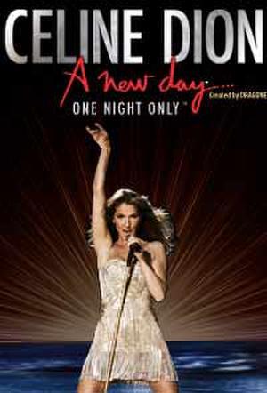 Poster art for Celine Dion.