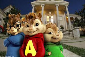 "Simon, Alvin and Theodore in ""Alvin and the Chipmunks."""
