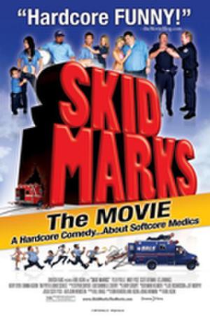 """Poster art for """"Skid Marks."""""""