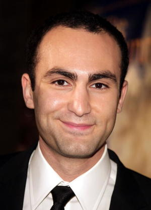 "Actor Khalid Abdalla at the Hollywood premiere of ""The Kite Runner."""