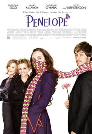 "Poster art for ""Penelope."""