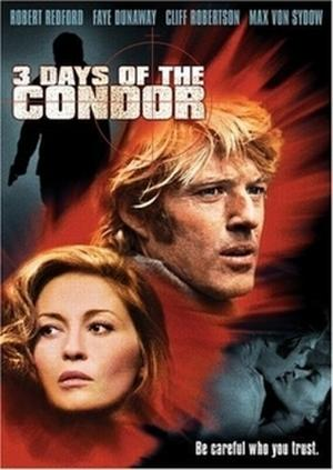 "Poster art for ""Three Days of the Condor."""