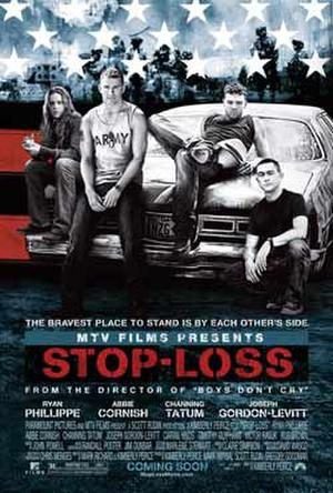 "Poster art for ""Stop-Loss."""