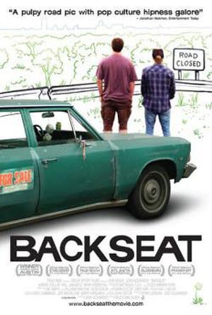 """Poster art for """"Backseat."""""""