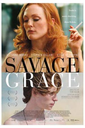 """Poster art for """"Savage Grace."""""""