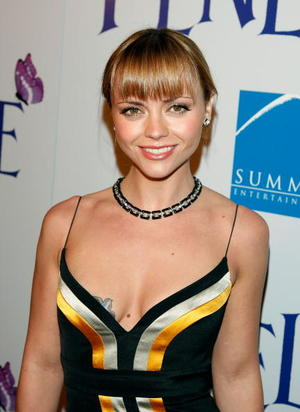 "Actress Christina Ricci at the L.A. premiere of ""Penelope."""