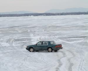 "A scene from ""Frozen River."""