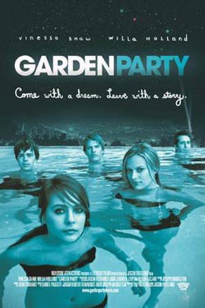 "Poster art for ""Garden Party."""