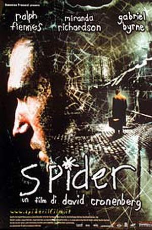 "Poster art for ""Spider."""
