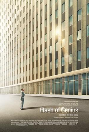 "Poster art for ""Flash of Genius."""