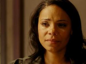 "Sanaa Lathan in ""Tyler Perry's The Family That Preys."""