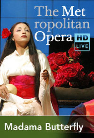 "Poster art for ""The Metropolitan Opera: Madama Butterfly Encore."""