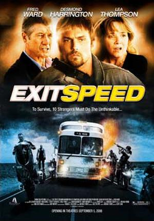 "Poster art for ""Exit Speed."""