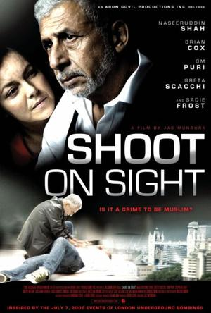 "Poster Art for ""Shoot on Sight."""