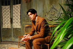 "Javier Beltran as Federico Garcia Lorca in ""Little Ashes."""