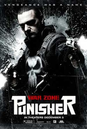 "Poster art for ""Punisher: War Zone."""