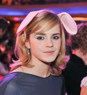 "Emma Watson at the after party of the California premiere of ""The Tale of Despereaux."""