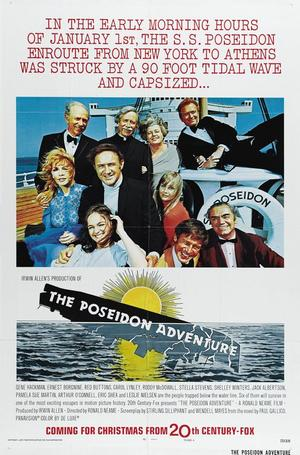 "Poster art for ""The Poseidon Adventure."""