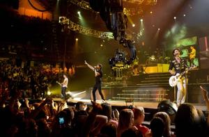 "A scene from ""Jonas Brothers 3-D Concert Movie."""