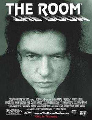"Poster art for ""The Room."""