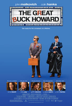 """Poster art for """"The Great Buck Howard."""""""