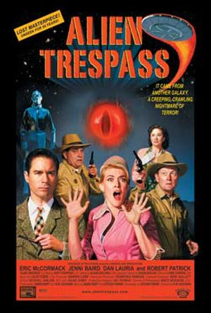 "Poster art for ""Alien Trespass."""