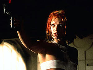 "Milla Jovovich in ""The Fifth Element."""