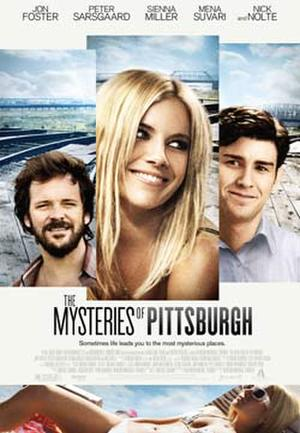 """Poster art for """"The Mysteries of Pittsburgh."""""""